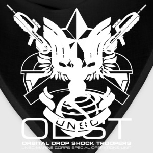 ODST Unit Emblem dark mens shirt - Bandana