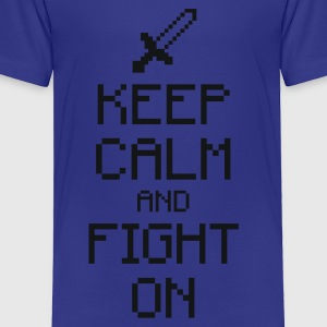 Keep calm and fight on 1c Kids' Shirts - Toddler Premium T-Shirt