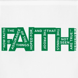 faith hebrews 11-1 - 1col T-Shirts - Adjustable Apron