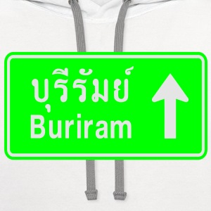 Buriram, Thailand / Highway Road Traffic Sign Baby & Toddler Shirts - Contrast Hoodie