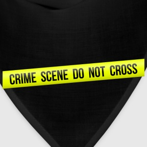 Crime Scene Do Not Cross - Bandana