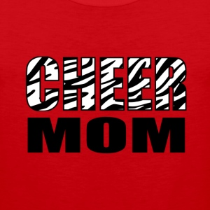 Cheer Mom Women's T-Shirts - Men's Premium Tank