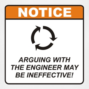 Arguing with the Engineer may be ineffective! - Adjustable Apron