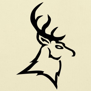 stag vector T-Shirts - Eco-Friendly Cotton Tote