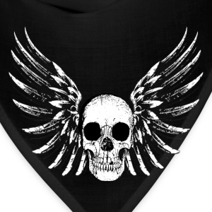 Winged Skull T-Shirts - Bandana