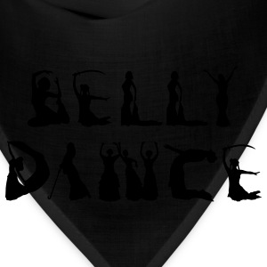 Belly Dancer Alphabet Women's T-Shirts - Bandana