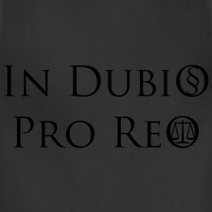 In Dubio Pro Reo T-Shirt - Adjustable Apron