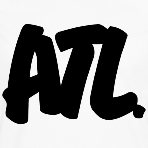 ATL Brushed W Heavyweight T-Shirt - Men's Premium Long Sleeve T-Shirt