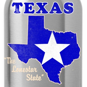 Texas, The Lonestar State womens vintage T - Water Bottle