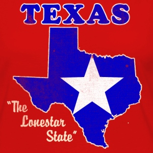 Texas, The Lonestar State womens vintage T - Women's Premium Long Sleeve T-Shirt