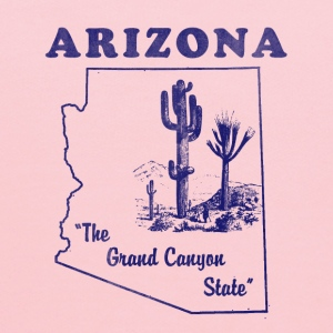 Arizona, The Grand Canyon State men's vintage T - Kids' Hoodie
