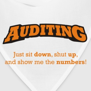 Auditing - Just sit down, shut up, and show me the numbers! - Bandana