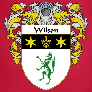 Wilson Coat of Arms/Family Crest - Adjustable Apron