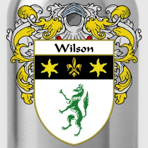 Wilson Coat of Arms/Family Crest - Water Bottle