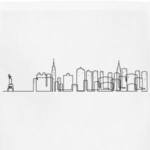 New York City Skyline Shirt - Adjustable Apron