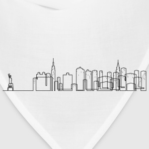 New York City Skyline Shirt - Bandana