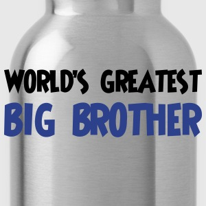 World's greatest big brother - Water Bottle