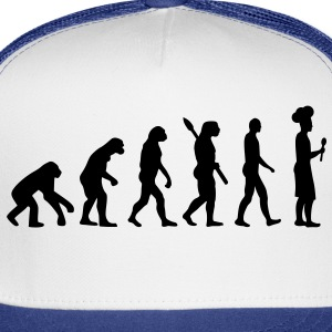 Evolution cook chef Women's T-Shirts - Trucker Cap