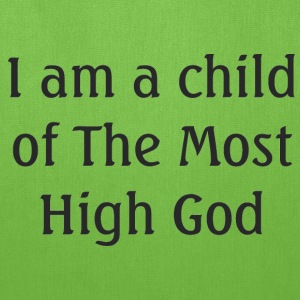 Most High God Kids' Shirts - Tote Bag