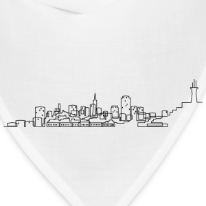 San Francisco Skyline T-shirt - Bandana