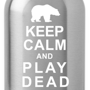The Keep Calm and Play Dead - Water Bottle