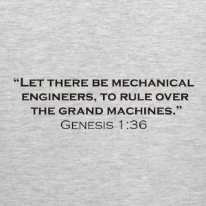 The Creation of Mechanical Engineers - Men's Premium Tank