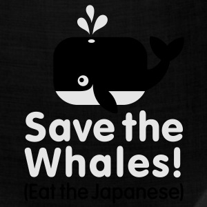Save the Whales! Eat the Japanese Kids' Shirts - Bandana