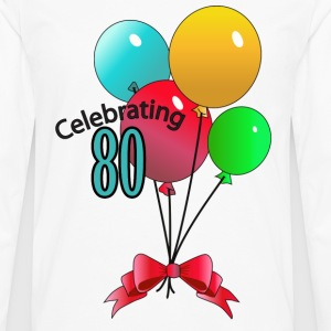 Celebrating 80 - Men's Premium Long Sleeve T-Shirt