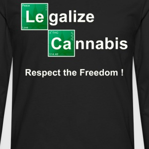Legalize Cannabis T shirt. - Men's Premium Long Sleeve T-Shirt