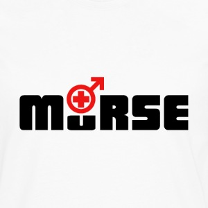 Nurse Shirt - Male Nurse murse logo shirt T-Shirts - Men's Premium Long Sleeve T-Shirt