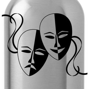 theatre_masks T-Shirts - Water Bottle