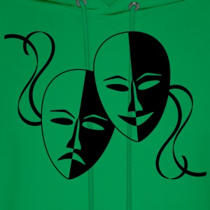 theatre_masks T-Shirts - Men's Hoodie
