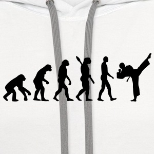 Evolution Karate Women's T-Shirts - Contrast Hoodie