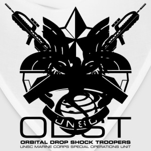 ODST Unit Emblem light mens shirt - Bandana