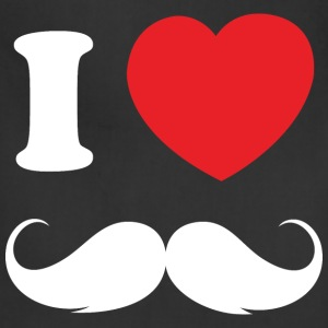 I Love Moustache - Adjustable Apron