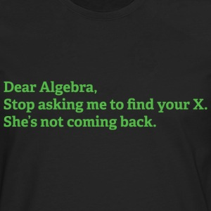 Dear Algebra - Men's Premium Long Sleeve T-Shirt