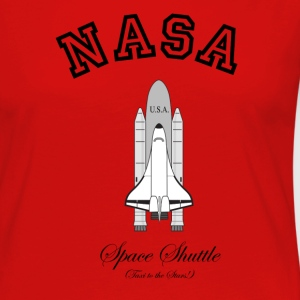 NASA Space Shuttle:  Taxi to the Stars! T-Shirts - Women's Premium Long Sleeve T-Shirt