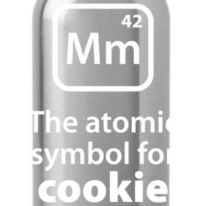 Atomic Symbol For Cookie - Water Bottle