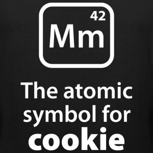 Atomic Symbol For Cookie - Men's Premium Tank