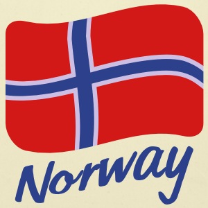 norway_flag_3c T-Shirts - Eco-Friendly Cotton Tote