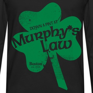 MURPHY'S LAW Women's T-Shirts - Men's Premium Long Sleeve T-Shirt