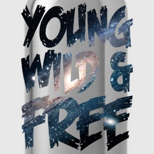 Young Wild & Free T-Shirts - Water Bottle