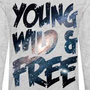 Young Wild & Free T-Shirts - Men's Premium Long Sleeve T-Shirt