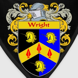 Wright Coat of Arms/Family Crest - Bandana