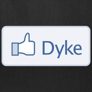 Facebook - Dyke T-Shirts - Tote Bag