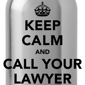 Keep Calm And Call Your Lawyer T-Shirts - Water Bottle