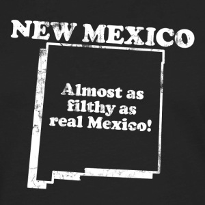 NEW MEXICO STATE SLOGAN T-Shirts - Men's Premium Long Sleeve T-Shirt