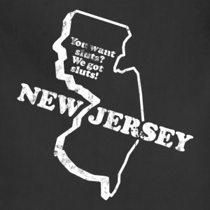 NEW JERSEY STATE SLOGAN T-Shirts - Adjustable Apron