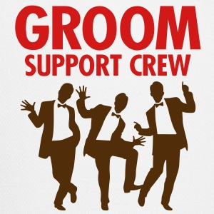 Groom Support Crew 1 (2c)++ T-Shirts - Trucker Cap