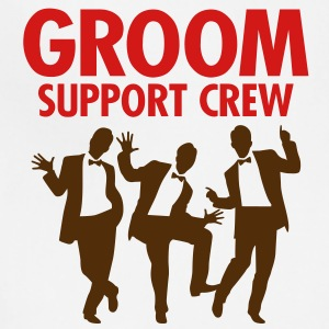 Groom Support Crew 1 (2c)++ T-Shirts - Adjustable Apron
